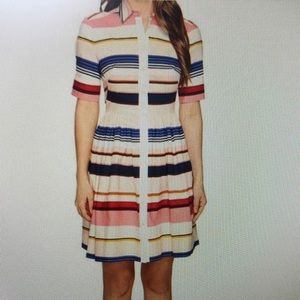 NWT Kate Spade ♠️ Berber Striped shirtdress